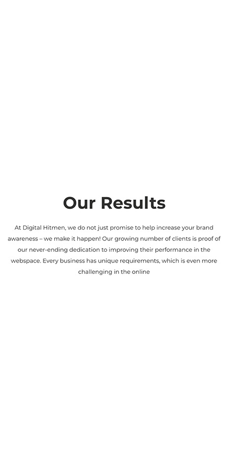 Digital Hitmen Results